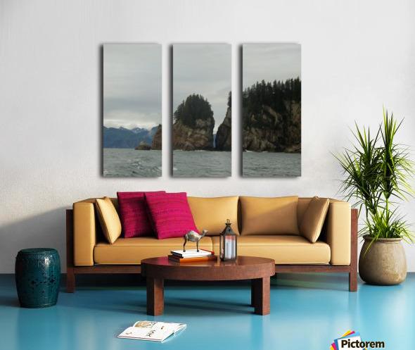 Rocks Split Canvas print