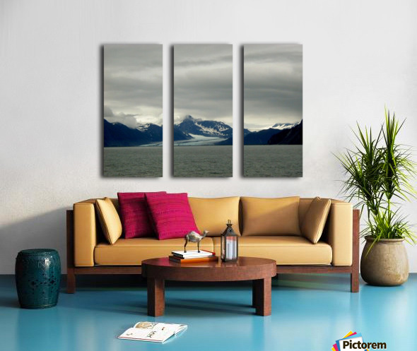 Glacier Split Canvas print