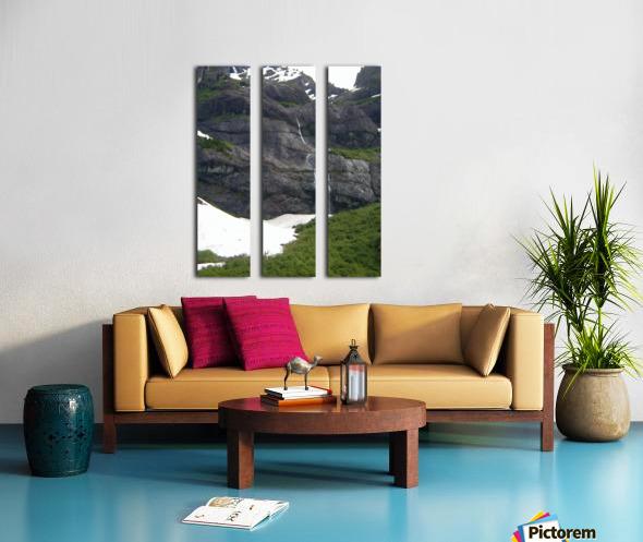 Melting Split Canvas print