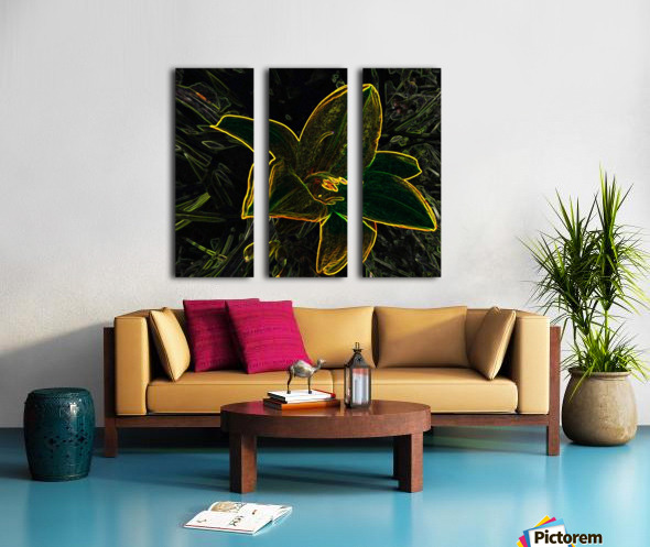 Lily Split Canvas print