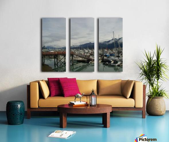 Seward Habor Split Canvas print