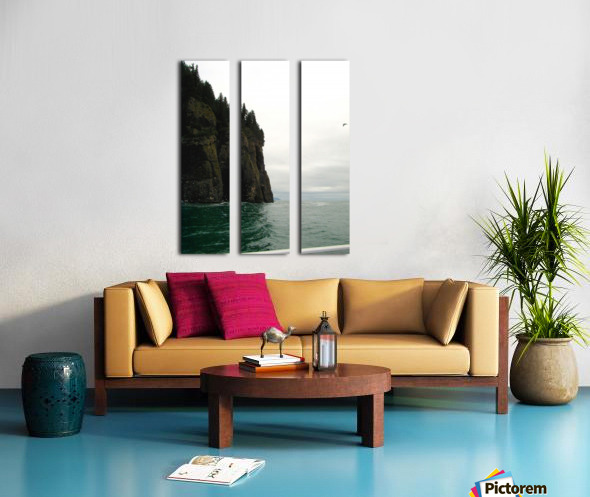 Point with bird Split Canvas print