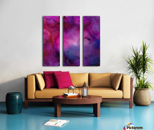 Nebula Split Canvas print