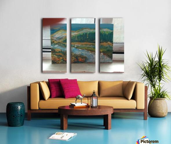 15269762690591284194293 Split Canvas print