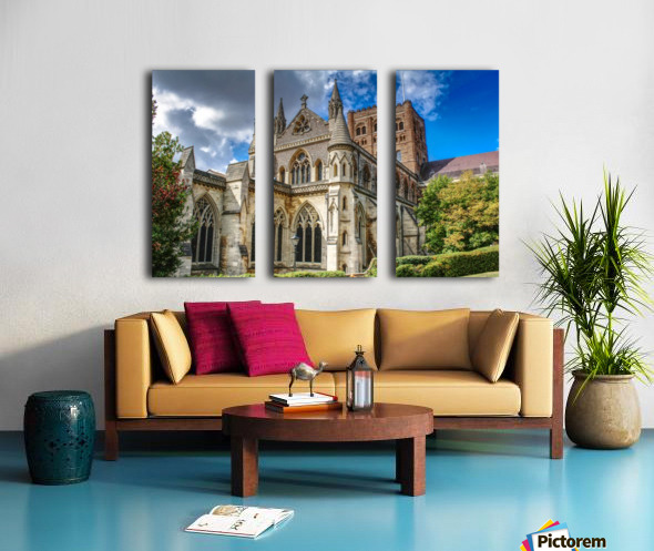 The Cathedral - England Landmarks Split Canvas print