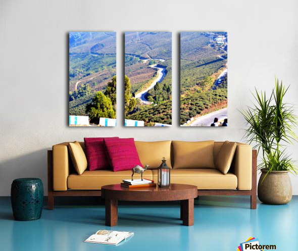 HIMALAYAN ROAD Split Canvas print