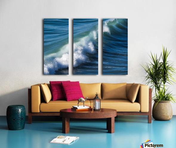 Wave of Changes - Vague de Changements Split Canvas print