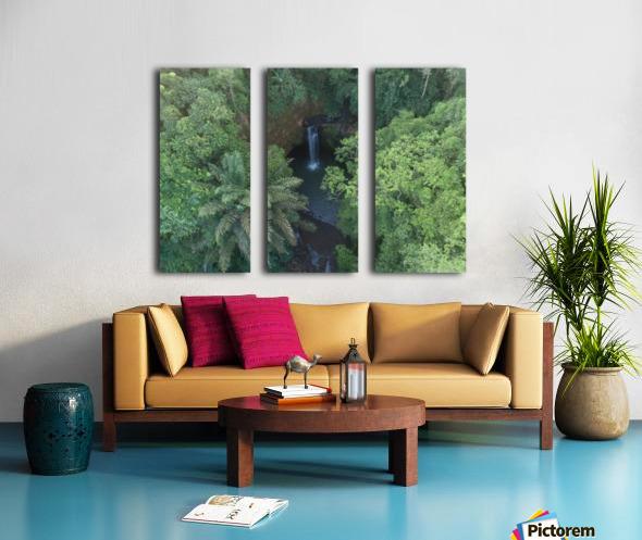 Tibumana waterfall - Bali Split Canvas print