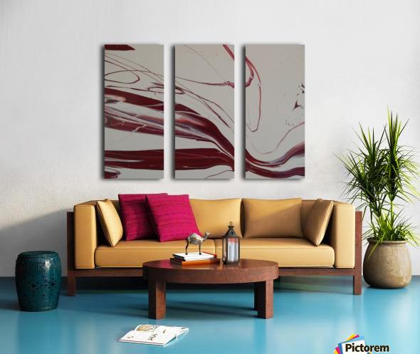 WINE Split Canvas print