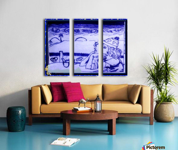 Pierson 001 Split Canvas print