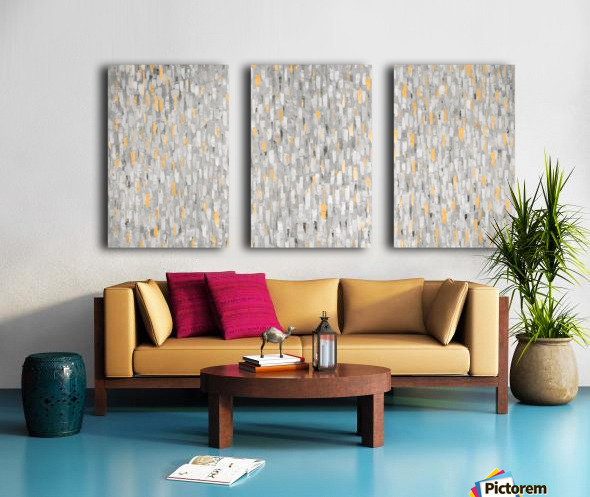 gleam Split Canvas print