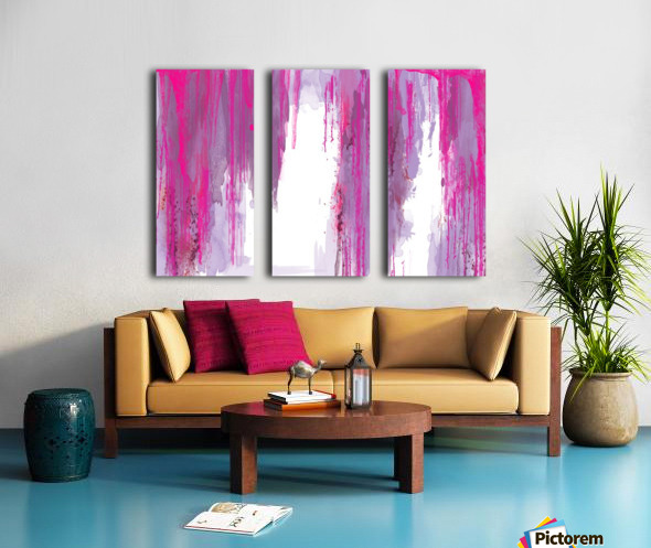 Rainning Split Canvas print