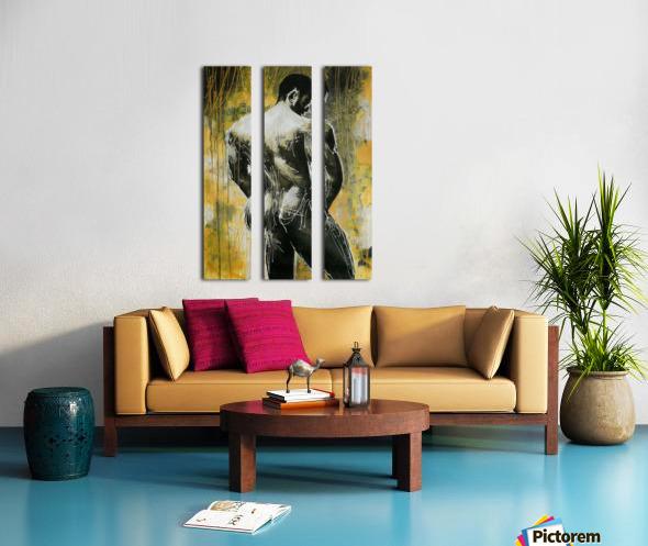 Profil Split Canvas print