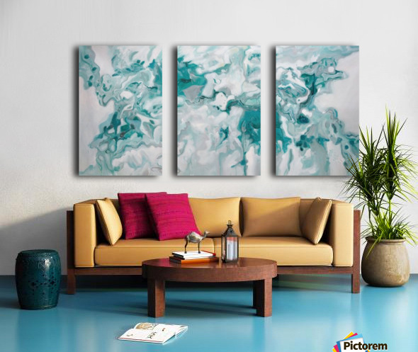 Arctic Split Canvas print
