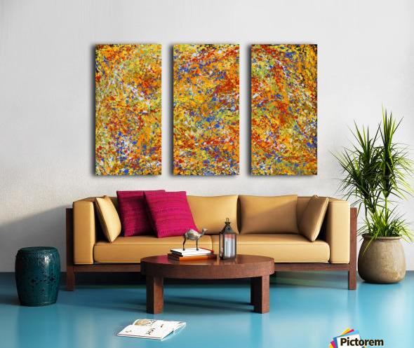 Great Mountain Split Canvas print