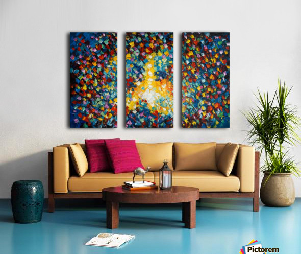 Our Night Split Canvas print