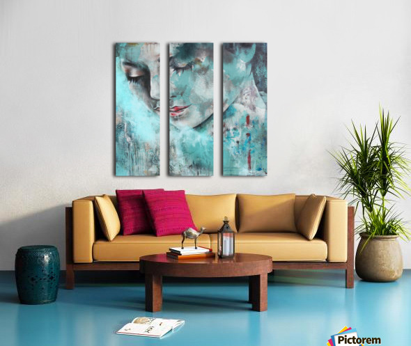 Demoiselle Split Canvas print