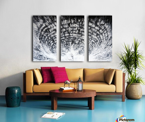 palatial Split Canvas print