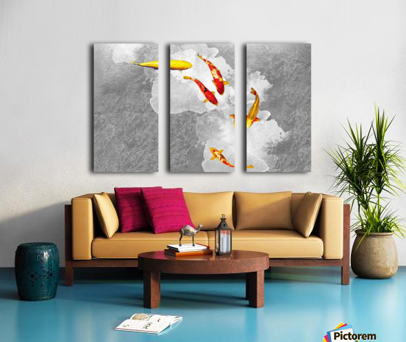 GoldFish Split Canvas print