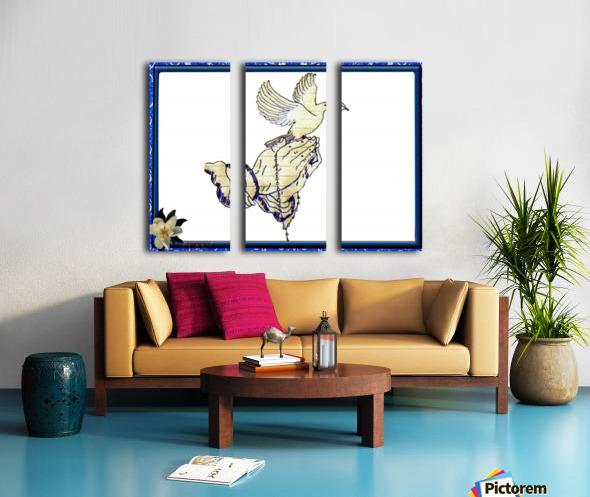 Pierson 002 Split Canvas print