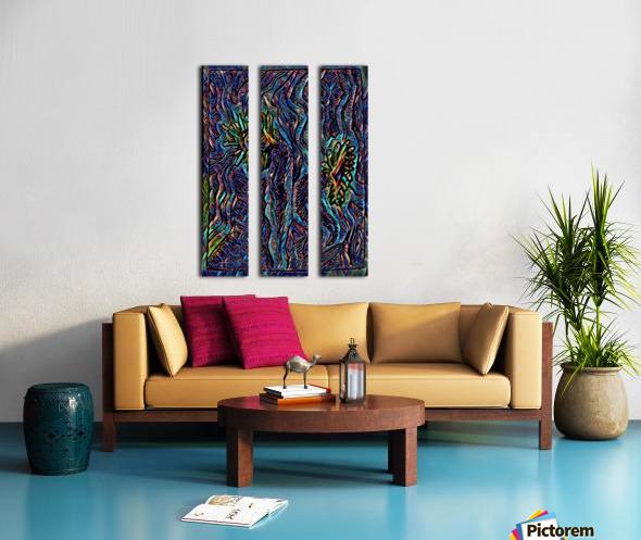 vofloer  Split Canvas print