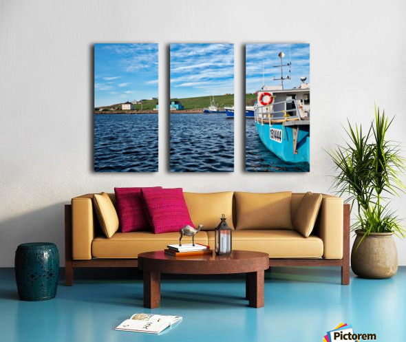 Grand Pleasures Split Canvas print