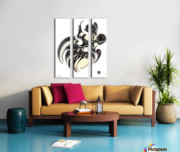 Perceptive Formation Split Canvas print