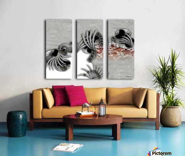 Supposed Emotion Split Canvas print