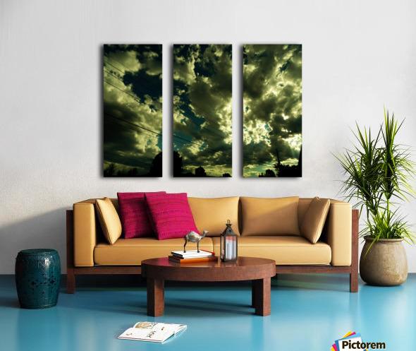 B (1) Split Canvas print