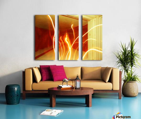 B (7) Split Canvas print