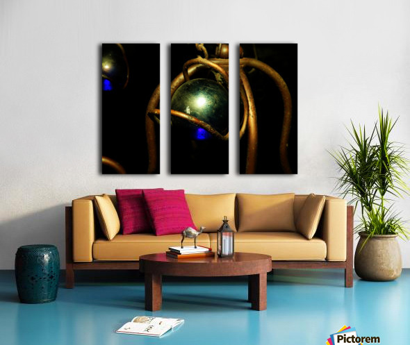 C (13) Split Canvas print