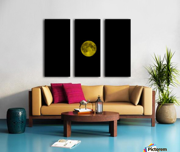 E (5) Split Canvas print