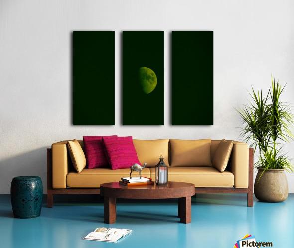 E (4) Split Canvas print