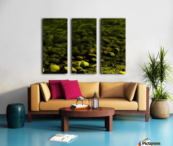 G (1) Split Canvas print