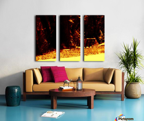 G (13) Split Canvas print