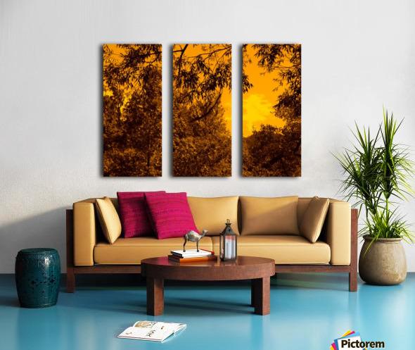 G (12) Split Canvas print