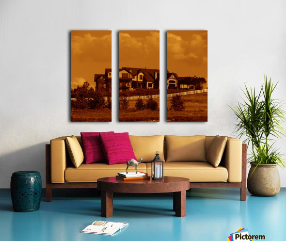 G (7) Split Canvas print