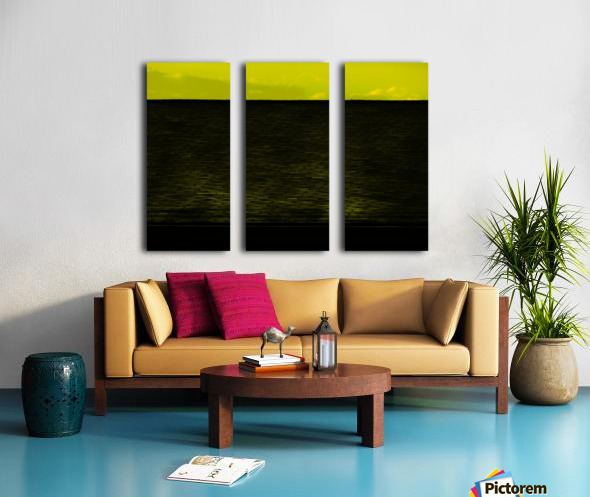H (13) Split Canvas print