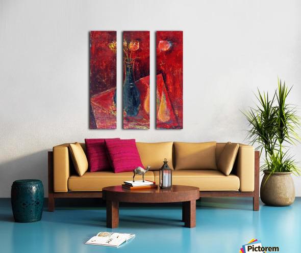 15.PEARS2014year oil on canvas 45x55 cm2500$ Split Canvas print