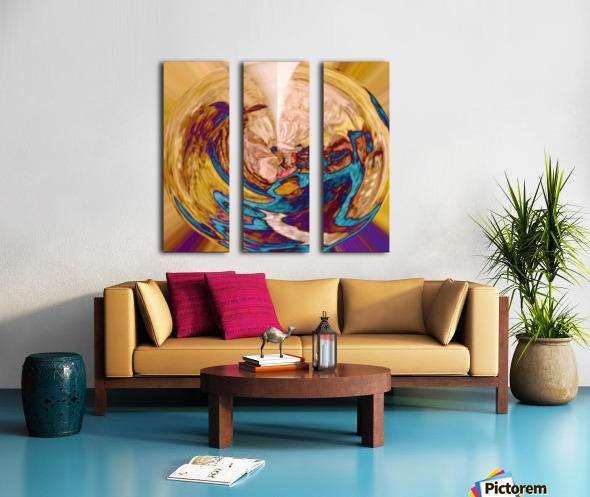Antic_Surrender Split Canvas print