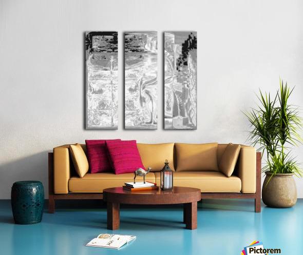 Ancient_Grounds_Gray Skies Split Canvas print