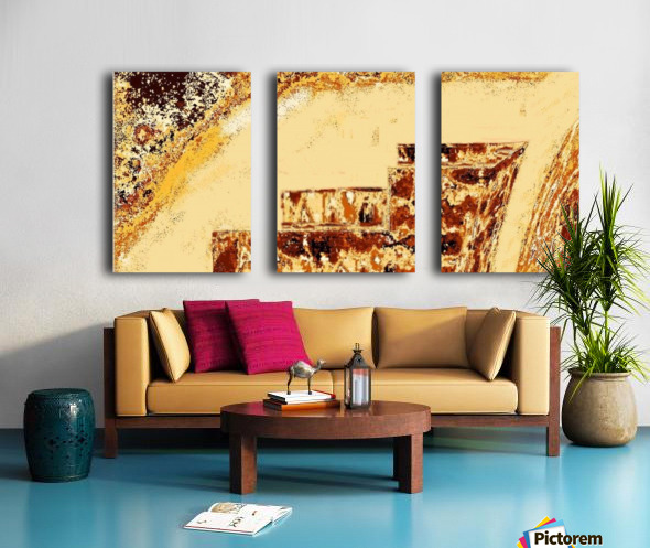 Easy_Garden Split Canvas print