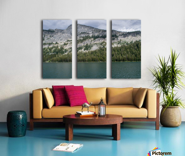 tenaya mountain Split Canvas print