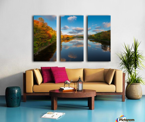 A Margaree Fall Split Canvas print