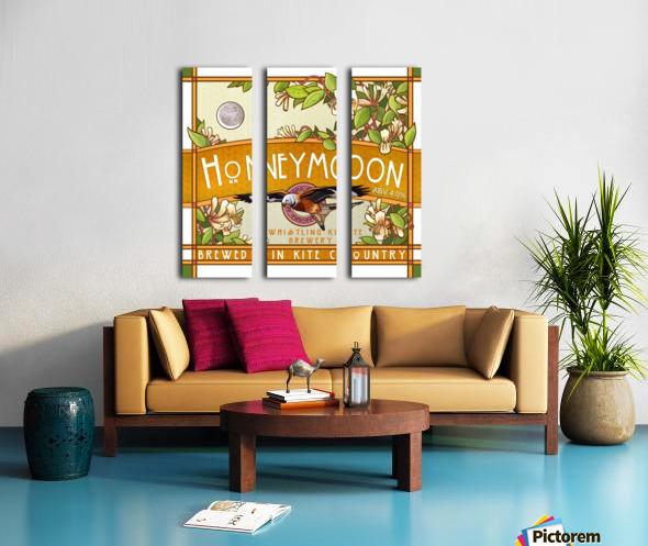 Whistling Kite Brewery: Honeymoon Split Canvas print
