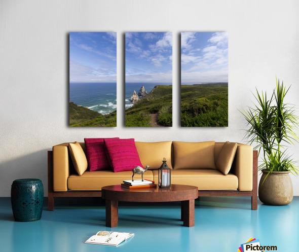 Praia da Ursa Split Canvas print