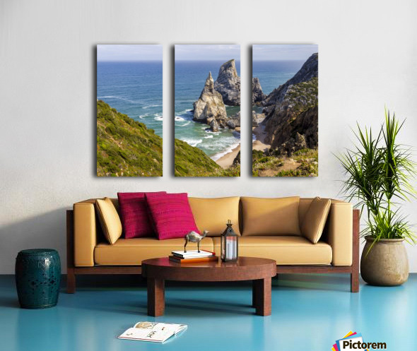 Praia da Ursa Split Canvas print