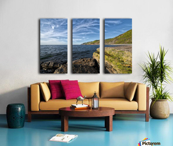 Once Upon a Time Split Canvas print