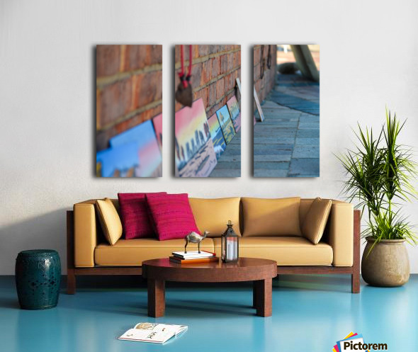 Local Street Artists of Africa Split Canvas print