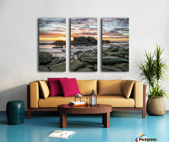 The Big Rock Split Canvas print